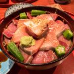 表参道・青山「きくまさ」でブリの胡麻ダレ丼