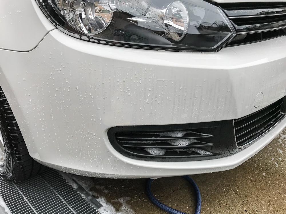 VWゴルフ 洗車